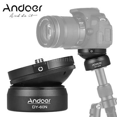 Andoer DY-60N Aluminum Tripod Base Leveler Adjusting Plate for Nikon Camera T9F2