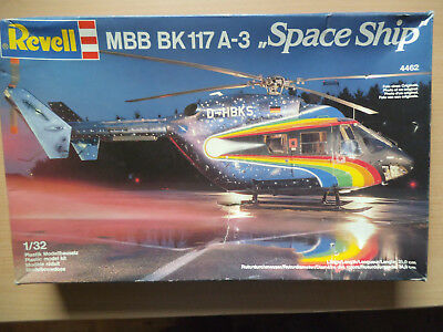 Revell 4462 MBB BK 117 A-3 Space Ship in 1:32 orig. von 1987 !! OVP ** RARE **