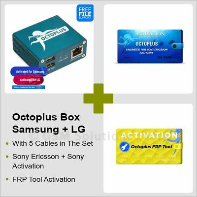 OCTOPLUS FRP TOOL Activation - Delivery Time : Instant