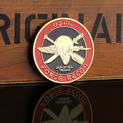 1 pc United States Marine corps USMC Force Recon Commemorative Coin_Pro