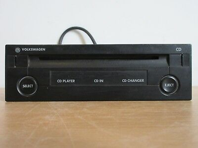 genuine volkswagen vw car stereo panasonic cx-dv1370lc cd player cd changer