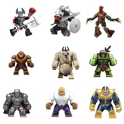 Hulk Thanos Godzilla Venom Marvel DC For Custom Minifigure - Big Minifigures