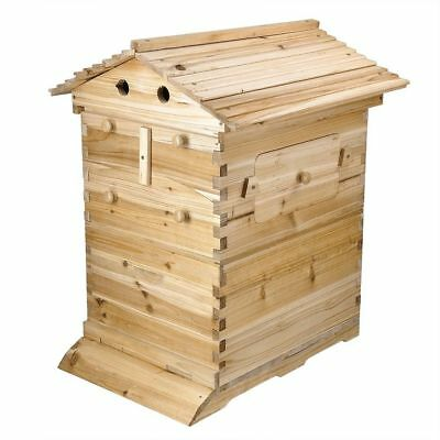 New Beehive Wooden Beekeeping House Box Hive Honey Keeper For Auto 20 Flow Raw F
