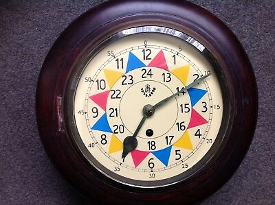 RAF Sector Dial Fusee Wall Clock. Reproduction