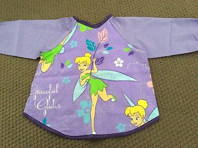 Tinkerbell Toddler Art Smock Age 2-4 Perfect For Home Or Pre-school
