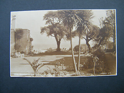 Early Judges PC of Grounds of Old Government House Hotel, Guernsey. Posted 1929.