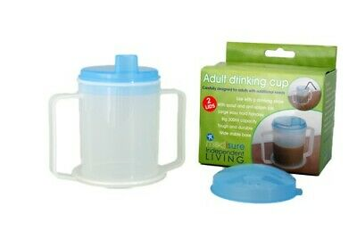 Medisure Adult Handled Drinking Cup Independent Living 300ml