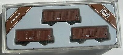 Z scale/gauge Japanese freight wagons by PRM Loco  (3 car set) rare (2 avalable)