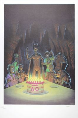 Affiche Offset Batman Les 60 ans de Batman