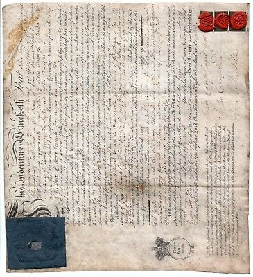 (613) Uk Giv 1812 Apprentice Indenture. Boston Lincolnshire.
