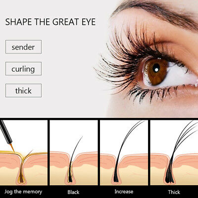New FEG 100% Original Natural Eyebrows Enhancer Rapid Growth Serum Liquid 3ml KF