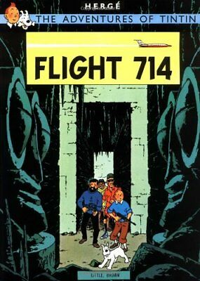 Flight 714 (The Adventures of Tintin) By Herge. 9781405206334