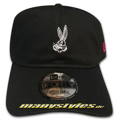 LOONEY TUNES BUGS Bunny New Era 9FORTY Curved Visor Adjustable Cap ... 81c5f316a80f