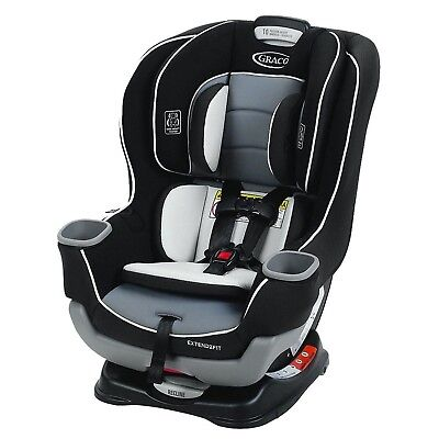 Graco Extend2Fit Convertible Car Seat, Gotham, One Size
