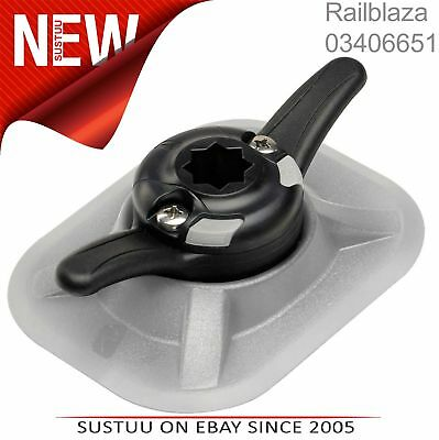 Railblaza Cleatport Ribmount Inc.3M Gel │ Cravate Off Point & Starport Comp. │