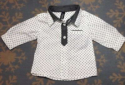 PETER MORRISSEY baby's long sleeve shirt size 00