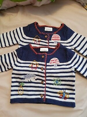 twin girls cardigans NEXT up to 1 month