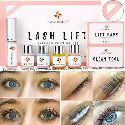 Iconsign Pro Volume Lash Lifting Perming Kit For Eyelash Extension Kit SET