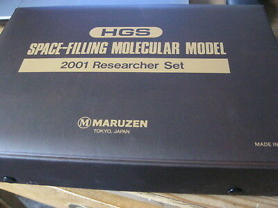 Chemie-Baukasten HGS Space-Filling Molecular Model 2001 Researcher Set, Maruzen