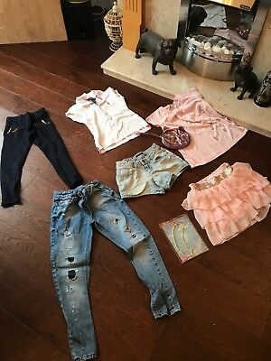 Girls Bundle Of Clothes. Size:6/7 Years Old. From Ralph Lauren, Zara, NEXT...