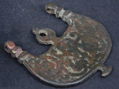 Ancient Bronze Pendant Islamic 1000 AD #GL1553