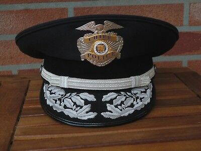 Los Angeles Police Department CHIEF hat LAPD, Keystone made, including capbadge