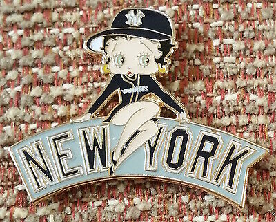 NEW YORK YANKEES BETTY BOOP Lapel Pin