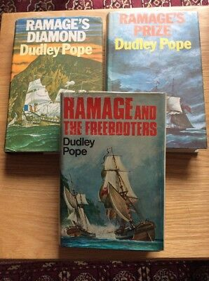 Dudley Pope First Edition Hardbacks Ramage And The Freebooters Diamond Prize