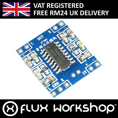 5V 2 Channel 3W Audio Amplifier Module Digital Analog Pi Arduino Flux Workshop