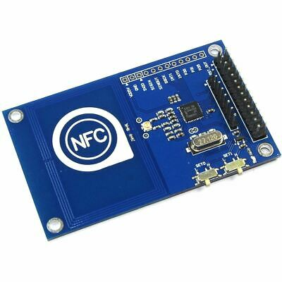 NFC RFID MODULE IC 13 56MHz PN5322 Card Key Fob Arduino SPI I2C Flux  Workshop