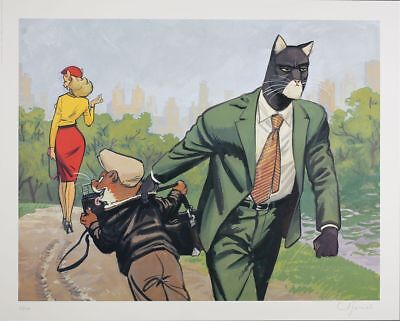 Affiche Offset Blacksad Central Park