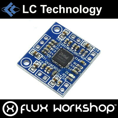 LC Technology PAM8610 20W Dual Channel Audio Amplifier Module 2x10 Flux Workshop