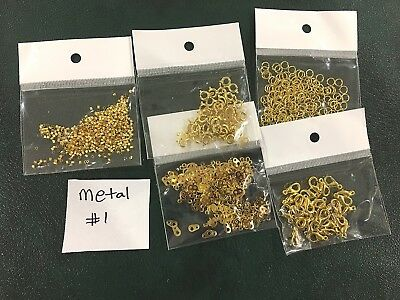 Metal Jewellery Making Findings - Mixed Pack of 5 - Metal #1