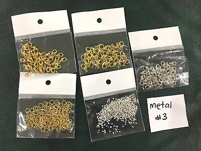 Metal Jewellery Making Findings - Mixed Pack of 5 - Metal #3