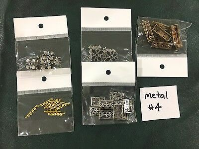 Metal Jewellery Making Findings - Mixed Pack of 5 - Metal #4