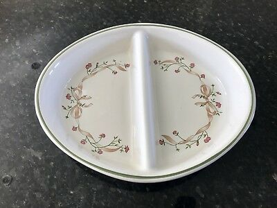 Eternal Beau divided serving dish in lovely condition
