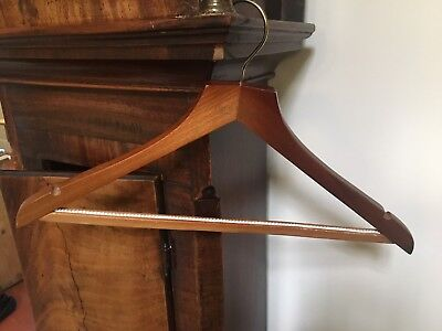 Vintage wooden coat hanger/ trouser hanger Four Seasons Hotels and Resorts