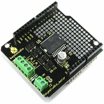 Keyestudio Arduino UNO L298P Motor Driver Shield KS-007 Flux Workshop