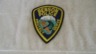 Outstanding Rare Police Shoulder Patch --Benson-- Johnstown Pa. Mint