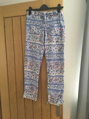 excellent condition girls Summer Zara trousers, age 13-14