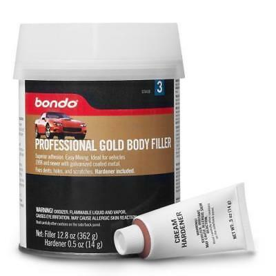 3M Bondo Gold Body Filler 237 Stage 3 With Cream Hardener