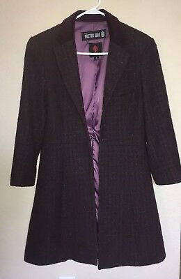 Abby Shot Eleventh Doctor Purple Coat, Doctor Who Cosplay, Halloween, Doctor Who