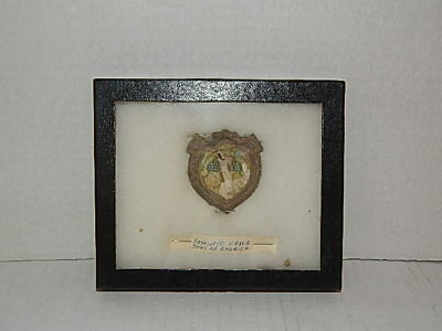 Antique 'patriotic Sons Of America' Badge - Civil War Relic