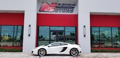 2012 McLaren MP4-12C  2012 MCLAREN MP4-12C - ONLY 3,590 ORIGINAL MILES - CARBON TRIM -FLORIDA