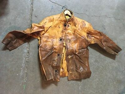 Vtg Antique M.L. Snyder and Son Inc Firefighting Rescue Jacket + Bibs Overalls
