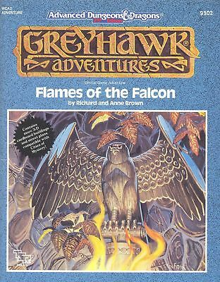 (AD&D) Advanced Dungeons & Dragons GREYHAWK Adventures - Flames of the Falcon