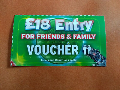 Drayton Manor Park £18 Entry Voucher