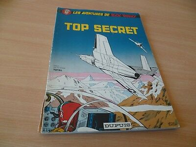 (T9) Bd Souple Buck Danny Top Secret Dupuis 72 Offert Par Total