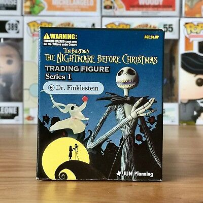 Disney Tim Burton's The Nightmare Before Christmas Trading Figure Dr Finkelstein