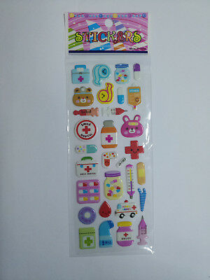 3D 1sheet Scrapbooking stickers Lot Funny Kids Favor party Gifts reward Craft